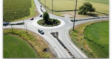 How to Drive Through a Roundabout