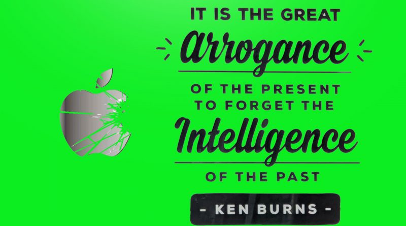 It's Official – Apple Have Lost Their Damn Minds